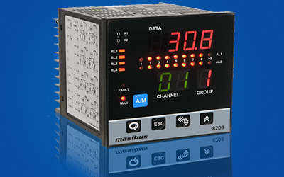 8-Channel Scanner Protection Relay 8208 Data Acquisition Products by Masibus