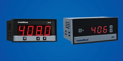 Digital Panel Meter Indicators Manufactures Digital Indicator 406/408M by Masibus for Metal, Cement, Water Treatment, Pharma, Oil Gas, Petro Chemical Industries