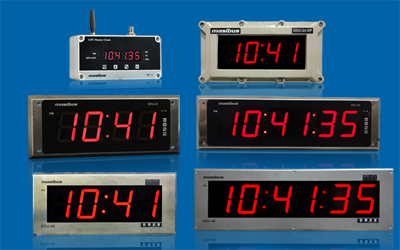 Wireless Clock System DDU24/26, DDU44/46 & MC-2